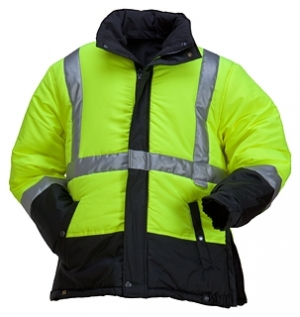 High Visibility Reversible Winter Jacket