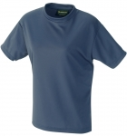 Quick Dry Mesh Short  Sleeve Ladies' T-shirt