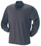 Quick Dry Mesh Mock Neck Long sleeve T-Shirt
